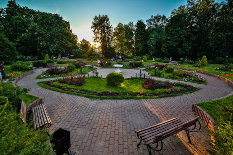 Системы автополива для парков и скверов